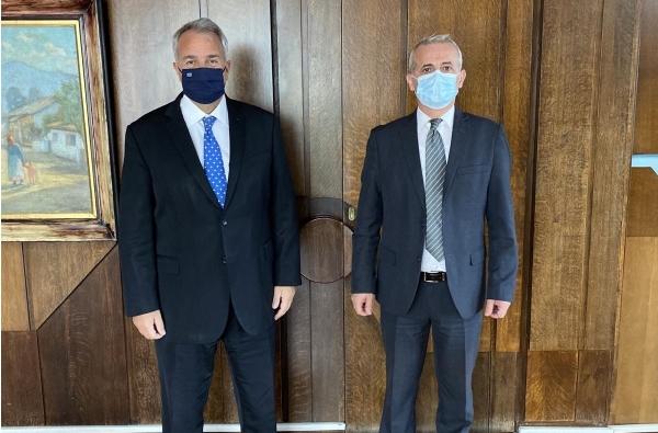 Συνάντηση με τον Υπουργό Εσωτερικών