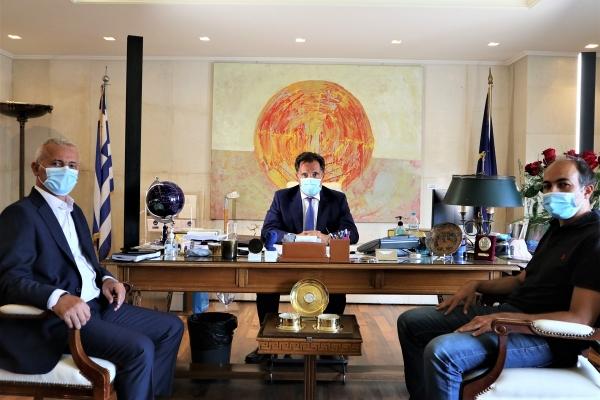 Συνάντηση Προεδρείου Π.Ο.ΑΣ.Υ. με τον Υπουργό Ανάπτυξης & Επενδύσεων