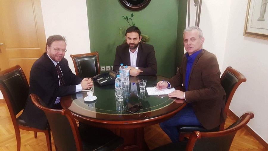 Συνάντηση της Ομοσπονδίας μας με τον Πρόεδρο του Ταμείου Παρακαταθηκών και Δανείων