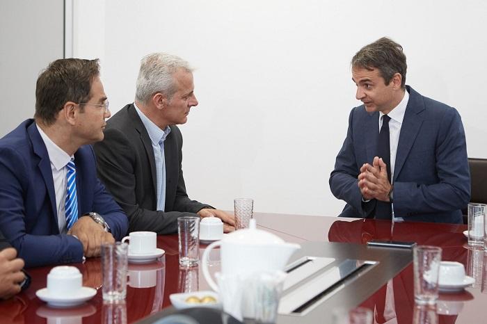 Συνάντηση της Π.Ο.ΑΣ.Υ. με τον Πρόεδρο της Νέας Δημοκρατίας κ. Κυριάκο Μητσοτάκη
